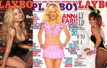 En imágenes | Las famosas que fueron portada de Playboy