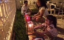 Así vivieron los niños de Barranquilla la noche de velitas