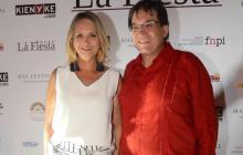 La fiesta en el 'Hay Festival' en Cartagena