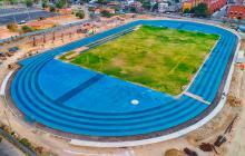 Así avanza el Estadio de Atletismo para los Juegos Centroamericanos