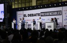 Así se desarrolló 'El Debate' con los candidatos presidenciales