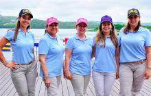 Clausura de la Copa de golf 'El Gran Azul'