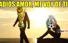Los memes que deja la eliminación de México del Mundial