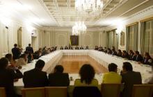 Imágenes que deja la cumbre entre Duque y líderes de la Consulta Anticorrupción