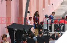 Así fue el rodaje del comercial de Caterine Ibargüen en Cartagena