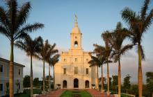 En imágenes | Así luce el primer templo mormón en Barranquilla