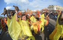 Con desfile, Cartagena le da la bienvenida a las Fiestas de la Independencia
