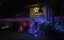 Vea aquí el alumbrado navideño de algunas casas barranquilleras