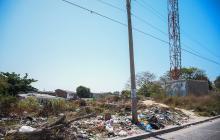 En imágenes | El abandono en que cayó la estación de Policía de Soledad 2000 tras el atentado