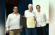 El reconocimiento de la Uninorte a Salomón Kalmanovitz