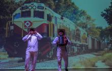 Las imágenes que dejó la obra de teatro 'A ritmos de Macondo'