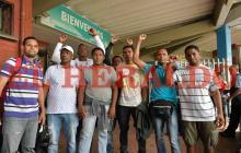 Así fue la llegada a Barranquilla de nueve de los colombianos exdetenidos en Caracas