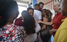 Así fue la llegada a Barranquilla del segundo grupo de liberados en Caracas