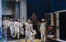 En imágenes | Momentos históricos de la llegada del hombre a la Luna hace 50 años