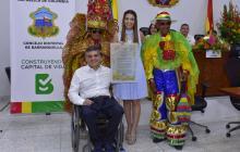 Condecoraciones con la 'Medalla Barrancas de San Nicolás'