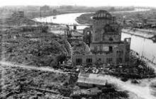 Imágenes que dejó la explosión de la bomba atómica en Hiroshima