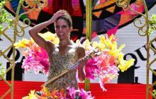 Así transcurrió la coronación de Isabella Chams Vega, reina del Carnaval 2020