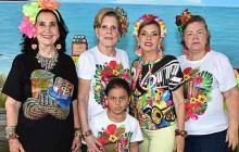 Cumpleaños de Julie Charris de Peñas