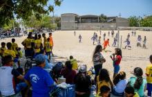 En imágenes | Coronavirus no frenó los torneos en los barrios