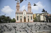 Así lucen las iglesias de Barranquilla un Domingo de Ramos atípico