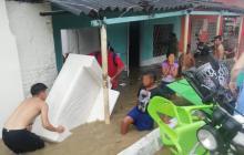 En imágenes | Emergencias por primer aguacero de 2020 en Barranquilla y su área metropolitana