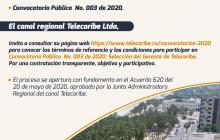 Telecaribe abre convocatoria para el cargo de gerente