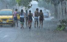 Intensas lluvias en Barranquilla y el área metropolitana