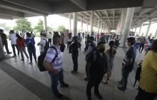 Usuarios reportan nuevamente retrasos en el servicio de Transmetro