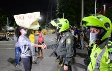 Estudiantes protestan nuevamente en Barranquilla