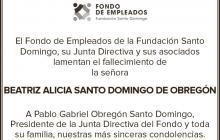 Beatriz Alicia Santo Domingo de Obregón