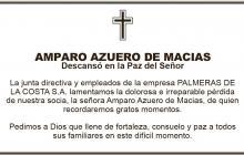 Amparo Azuero de Macias