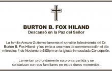 Burton B. Fox Hiland