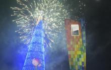 La Ventana al Mundo se ilumina con las luces de Navidad
