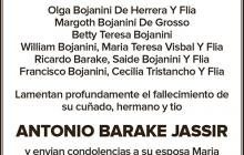 Antonio Barake Jassir