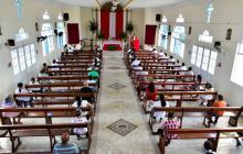 Domingo de Ramos en medio de la pandemia en Barranquilla