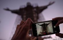 Monumento de Cristo Protector en Brasil
