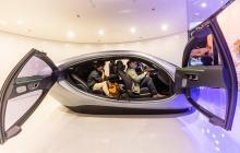 El futurismo se toma la exposición de autos de Shanghái