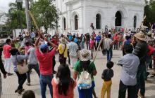 Marchas y caravanas en la región Caribe