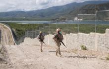 Así va el 'muro' construido por República Dominicana en frontera con Haití