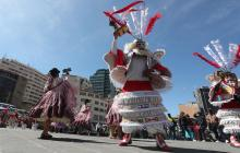 """Bolivia """"defiende"""" con música y danza el origen de la morenada"""