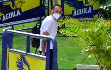 La selección Colombia en su arribo a Barranquilla