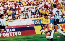 Los cinco choques entre Colombia y Argentina en el Metropolitano