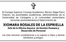 Xiomara Rosales De La Espriella