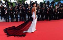 Las estrellas del cine brillan en la alfombra roja de Cannes