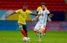 Reviva algunos de los momentos del juego de Colombia vs. Argentina