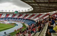 Imágenes del partido Junior vs. Envigado en el estadio Metropolitano