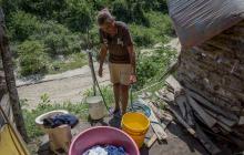 Así viven los habitantes de Villa Bertha en Malambo