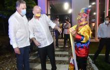 Así fue el jueves de Infantino en Barranquilla