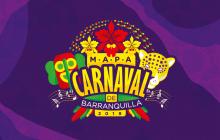 Mapa carnavalero, la ruta de la alegría