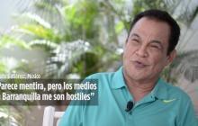 """Alfredo Gutiérrez: """"Parece mentira, pero los medios en Barranquilla me son hostiles"""""""